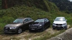 宝马X1/奔驰GLA/奥迪Q3 豪华紧凑SUV
