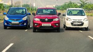 三款小型SUV正面交锋 路试对比赏析