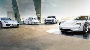 保时捷汽车E驱高效动力 创领激情未来