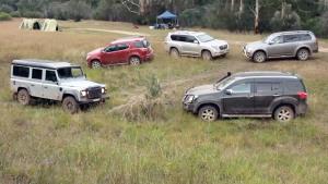 多款SUV集结 爬坡涉水越野性能比拼