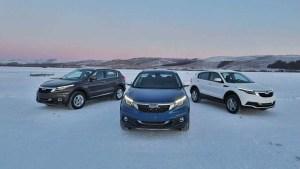 观致汽车冰雪测试 牙克石挑战零下20度