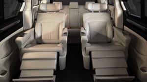 上汽大通G10 配备头等舱行政座椅