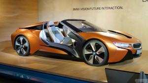宝马新互联驾驶概念车 基i8敞篷版打造