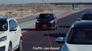 2016CES展 起亚Drive Wise驾驶辅助系统