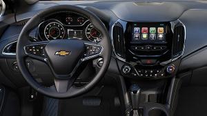 2017款雪佛兰科鲁兹掀背 智能车载系统