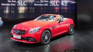 2016北美车展 奔驰SLC级更名亮相