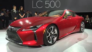 2016北美车展 雷克萨斯LC 500首发亮相