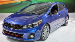 2016北美车展 全新起亚K3S发布