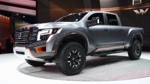 2016北美车展 日产Titan Warrior概念车