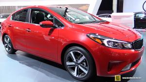 2016北美车展 新款起亚K3内外实拍