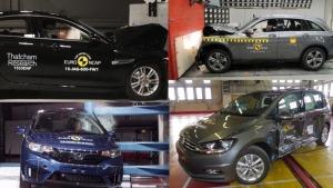2015年E-NCAP碰撞测试 最安全车型揭晓
