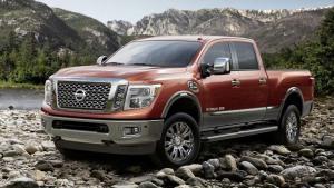 2016款日产Titan 搭载5.0T柴油发动机
