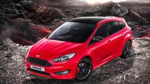 福特福克斯红黑特别版 车身配色独特