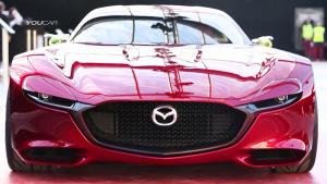 马自达RX-Vision概念车 力量感十足