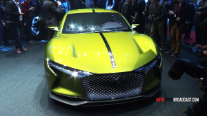 2016日内瓦车展 DS E-Tense概念车发布