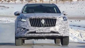 宝沃BX7紧凑型SUV 高寒赛道严苛测试