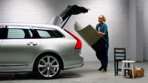 沃尔沃V90 原厂配件多功能后备厢垫