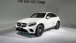 2016纽约车展 奔驰GLC Coupe重磅登场