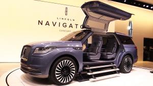 2016纽约车展 全新领航员概念车首发