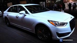 2016纽约车展 现代Genesis G90 Luxury