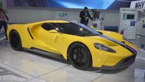2016纽约车展 2017款福特GT跑车实拍