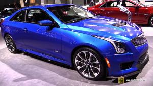 2016纽约车展 2016款凯迪拉克ATS-V亮相