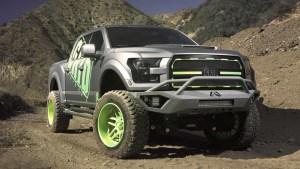 改装福特F-150皮卡 绿色轮毂清爽宜人