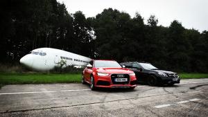 奥迪RS6 Avent 对战奔驰E63 AMG wagon