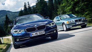 新一代宝马3系运动轿车 动力表现出色