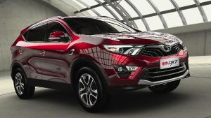 东南首款SUV车型DX7 车型配置详解