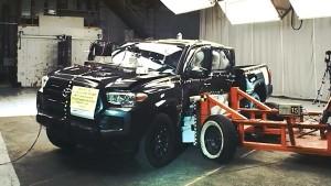 全新丰田Tacoma NHTSA侧面碰撞测试