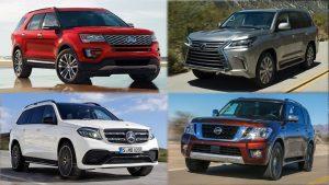 日产ARMADA领衔 细数国外最佳全尺寸SUV