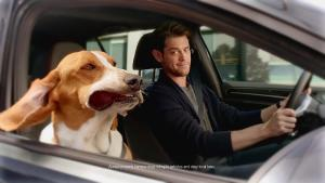 2016款高尔夫GTI 梦里带着狗狗去兜风