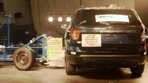 2016款福特探险者 NHTSA侧面碰撞测试