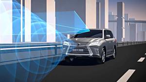 2016款雷克萨斯LX 配备碰撞安全系统