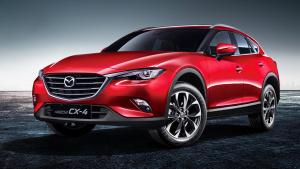 一汽马自达CX-4 未来派轿跑SUV