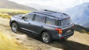 广汽传祺GS8中大型SUV 配备全LED大灯