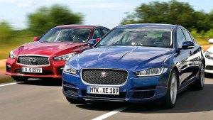 四款豪华中型轿车较量 外观细节对比