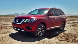 2017款日产探路者7座SUV 越野性能测试