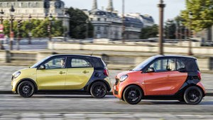 smart fortwo/forfour 车身小巧灵活