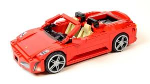 双门跑车复活 拼装法拉利F430敞篷版
