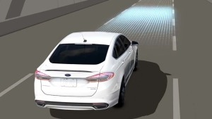 2017款福特蒙迪欧 配备车道保持系统