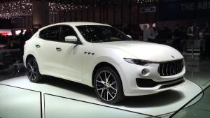 玛莎拉蒂首款SUV车型Levante 99.98万起