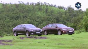 中级车PK 全新速派对比凯美瑞混动版