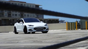 改装特斯拉Model S P90D 细节微调