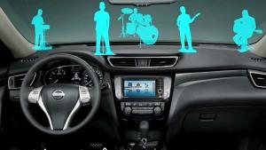 日产新奇骏城市SUV 娱乐系统全面升级