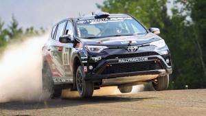 丰田全新RAV4拉力版赛车 征战复杂路况