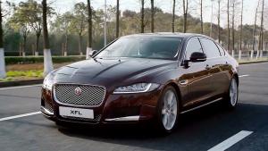 全新国产捷豹XFL 轻盈铝质车身性能高效