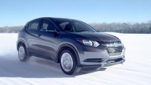 2016款本田HR-V紧凑SUV 极寒环境测性能