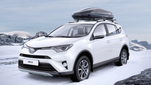 海外版丰田RAV4荣放 冬季配件展示